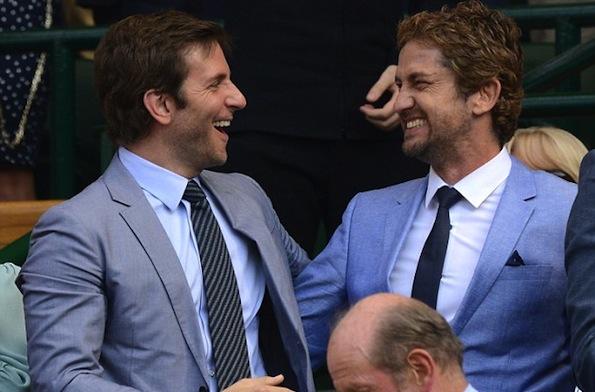 Bradley Cooper Gerard Butler tennis