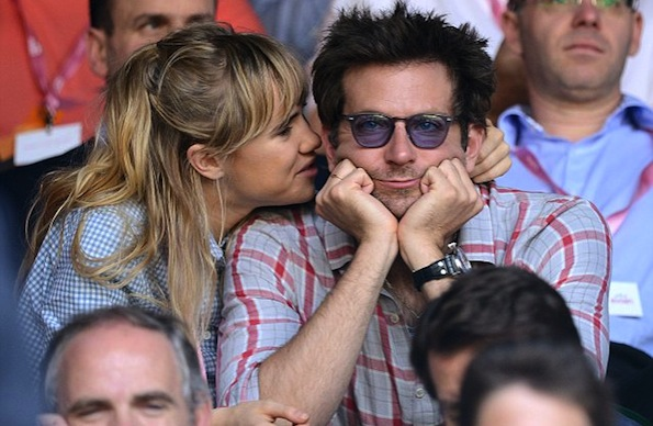 bradley cooper girlfriend tennis game
