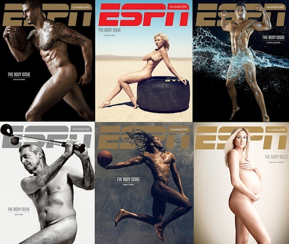 Espn body issue covers 2013