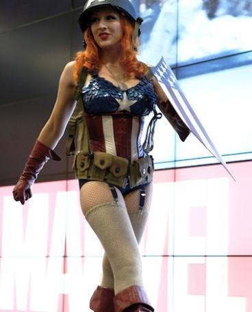 Female Captain America #2