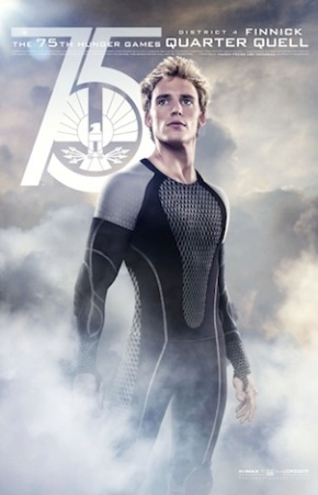 Finnick character poster catching fire
