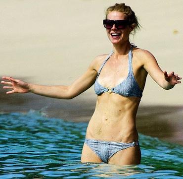 Gwyneth Paltrow in the sun