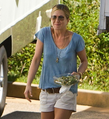 Jennifer aniston salad tosser