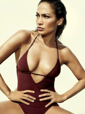 Jennifer Lopez swimsuit magazine