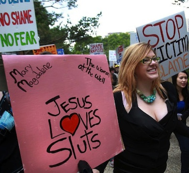 Jesus loves sluts