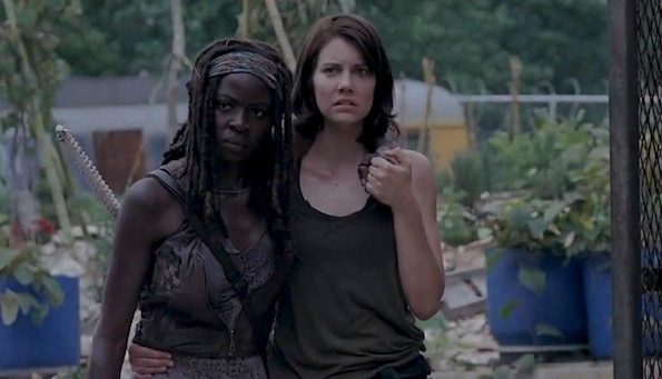 Michonne and Maggie