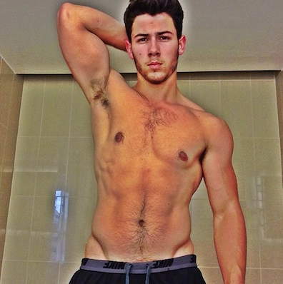 Nick Jonas Shows Off Disney Owned Nipples And Body Hair The