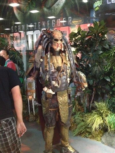 predator comic con 2013