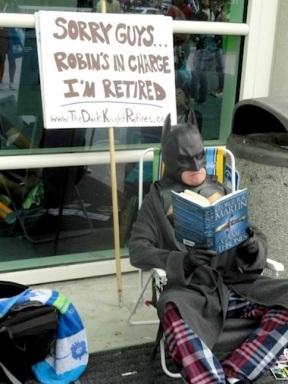 The Dark Knight Retires