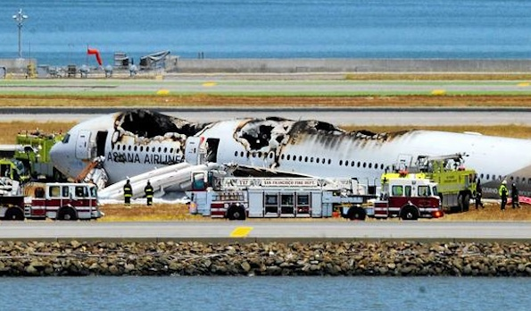 san francisco airplane crash 2013