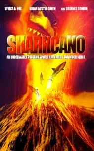 Sharkcano poster