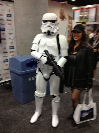 Storm Trooper comic con 2013