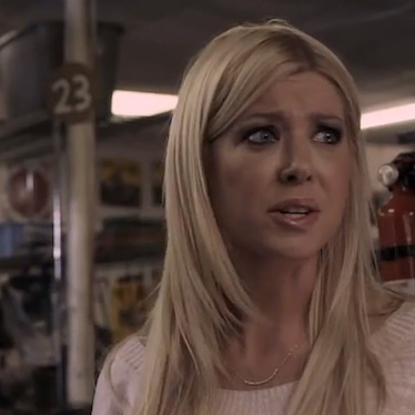 Tara Reid Sharknado still