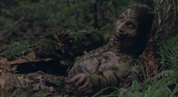 The Walking Dead zombie tree