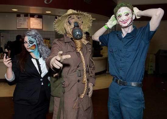 Two-Face, Scarecrow and Joker