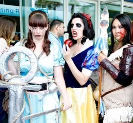 Zombie Disney princesses