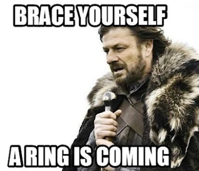 Game of thrones proposal meme ring