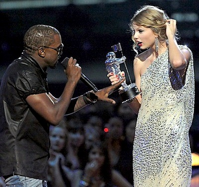 Kanye west stealing taylor swift