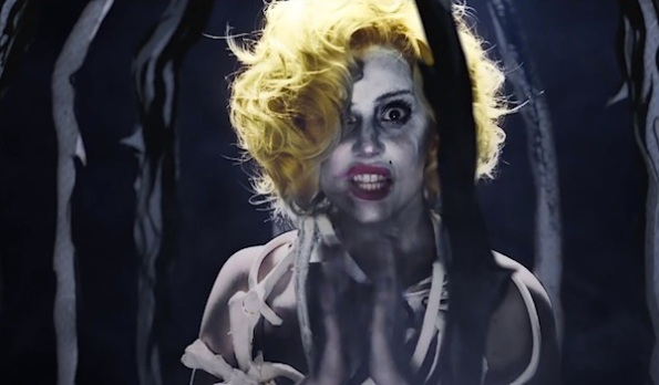 Lady Gaga Applause clap video still