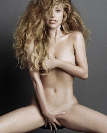 Lady Gaga naked v magazine