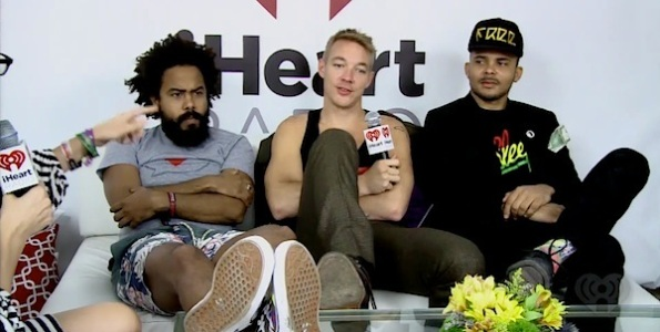 Major Lazer kennedy interview 2013