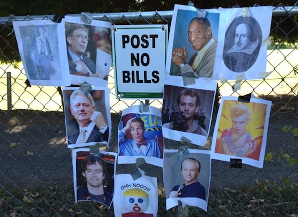 Post no bills sign portland