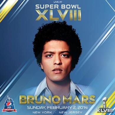 Bruno mars halftime show poster
