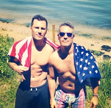 Sean Avery Andy Cohen instagram