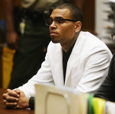 chris brown in court d.c.