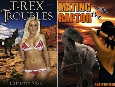 Dinosaur romance novels