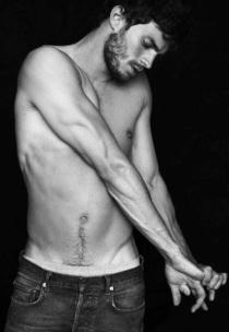 Jamie Dornan shirtless