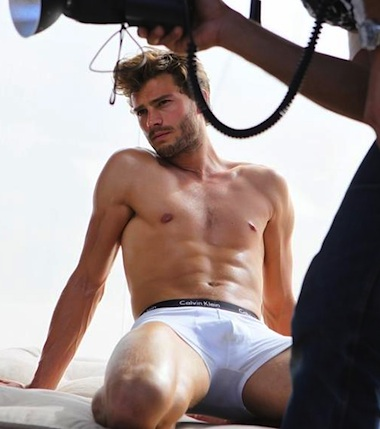 Underwear Model Jamie Golden Torso Dornan Cast As