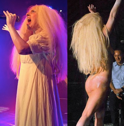 Lady gaga naked gay club 2013