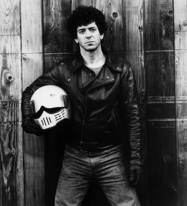 Lou Reed black and white