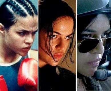 Michelle Rodriguez butchy roles