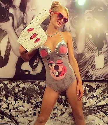 Paris hilton halloween costume 2013 Miley