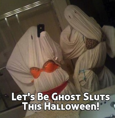 sexy ghost halloween costume