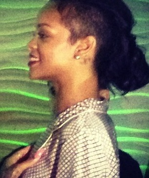Rihanna going bald