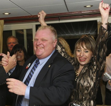 Rob Ford mayor wife