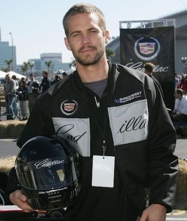 Paul Walker racing gear