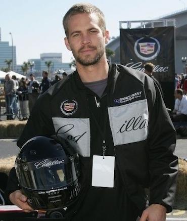 Paul Walker racing gear