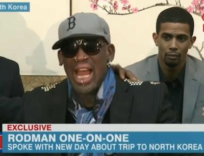 Dennis Rodman crazy cnn