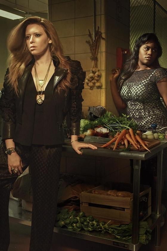 'Orange Is The New Black' Cast Ditch Prison Uniforms for ...