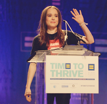 Ellen page time to thrive