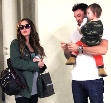 Megan Fox and son