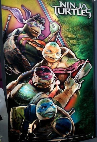 Michael Bay's Ninja Turtles Look Like Steamrolled Caca ...