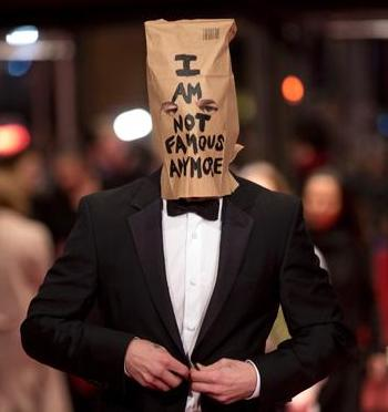 Shia bag on head
