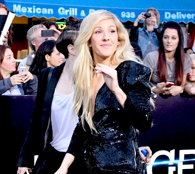 Ellie Goulding Divergent premiere