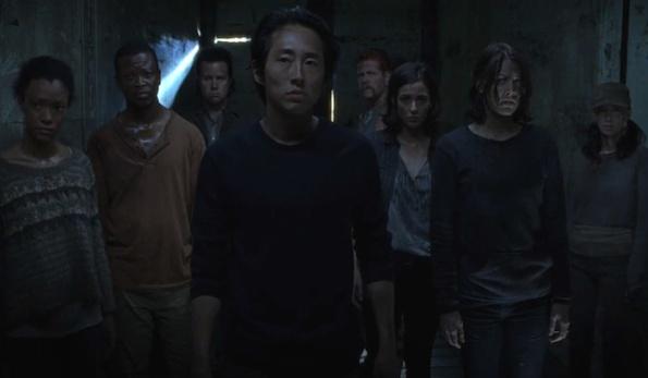 Glenn The Walking dead finale