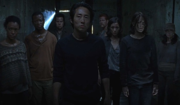 Glenn The Walking dead finale